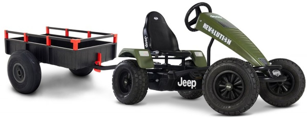 BERG   Jeep ® Revolution BFR + aanhanger large trailer