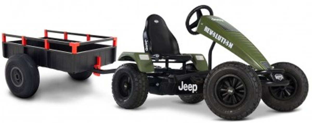 BERG   Jeep ® Revolution BFR-3 + aanhanger large trailer