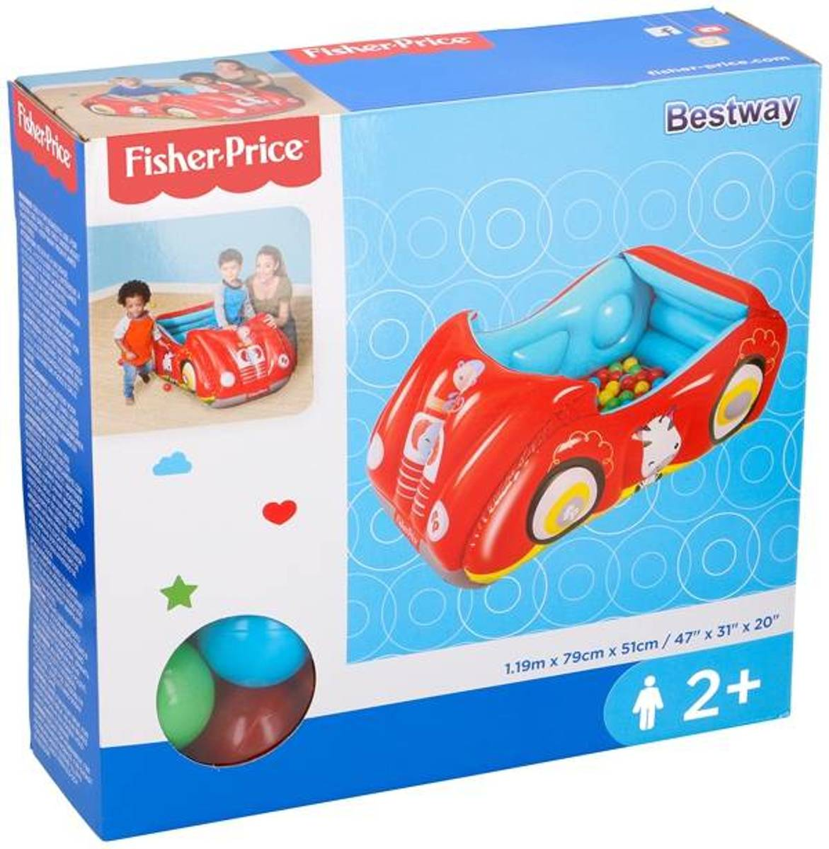 Fisher-Price   Racewagen