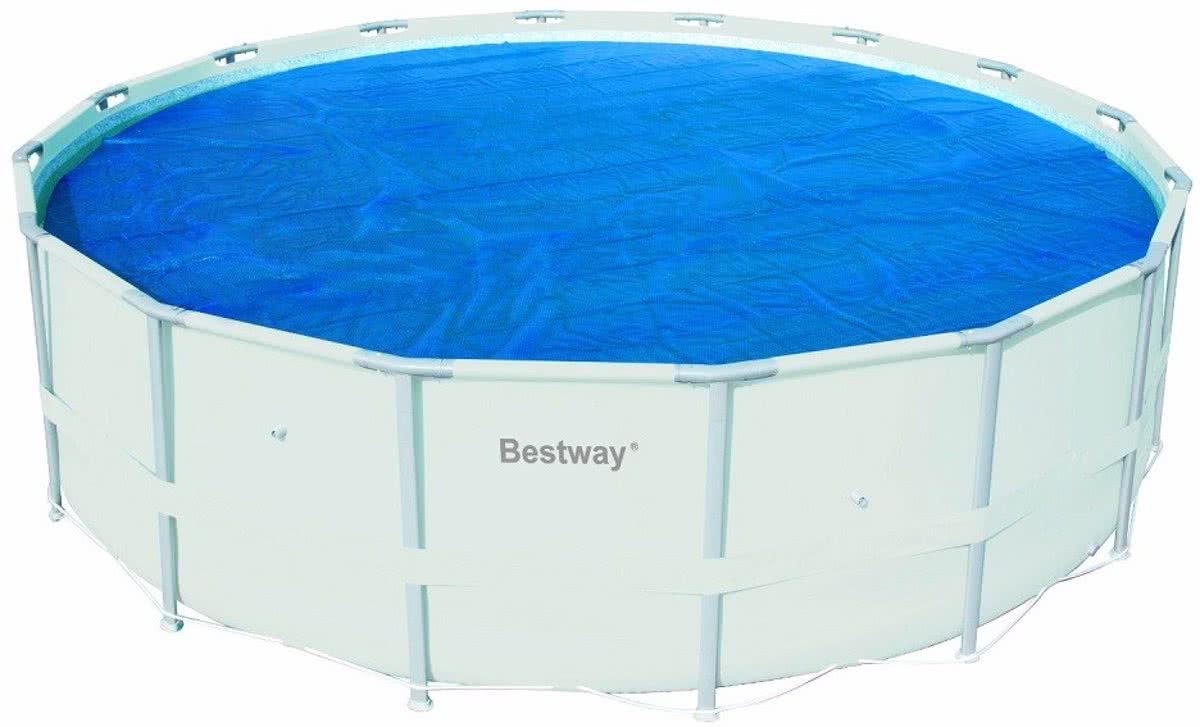 Bestway zwembad afdekzeil 300 x 201 cm 6942138918496 for Zwembad afdekzeil