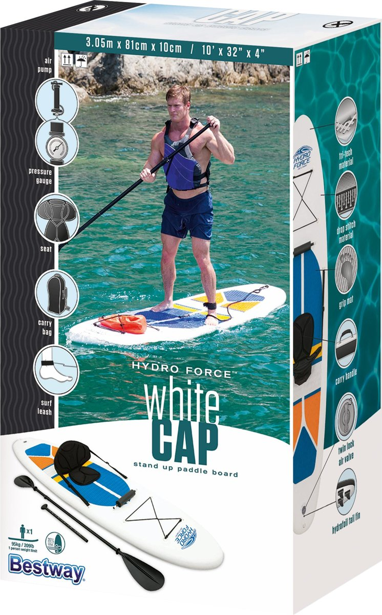 Stand Up Paddle Board SUP - Surfbord - 305x81x10 Cm