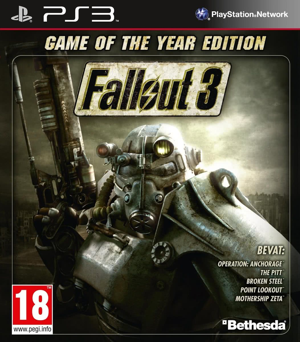Fallout 3 - Game Of The Year Edition - PS3