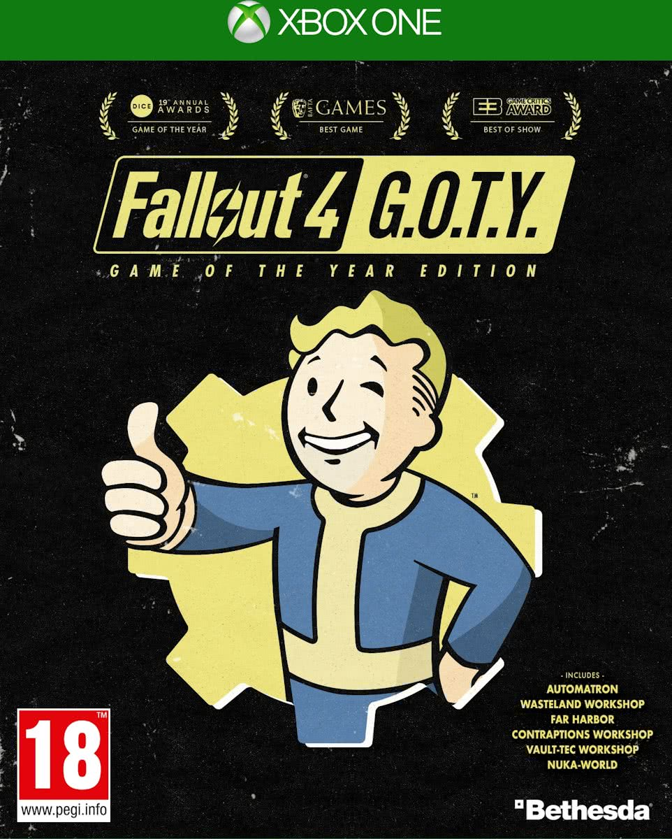 Fallout 4 Game of the Year Editie Xbox One