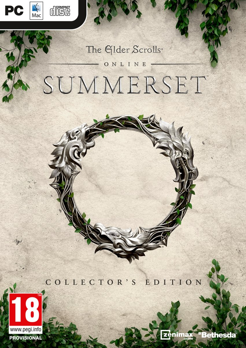 The Elder Scrolls Online: Summerset Collectors Edition - PC