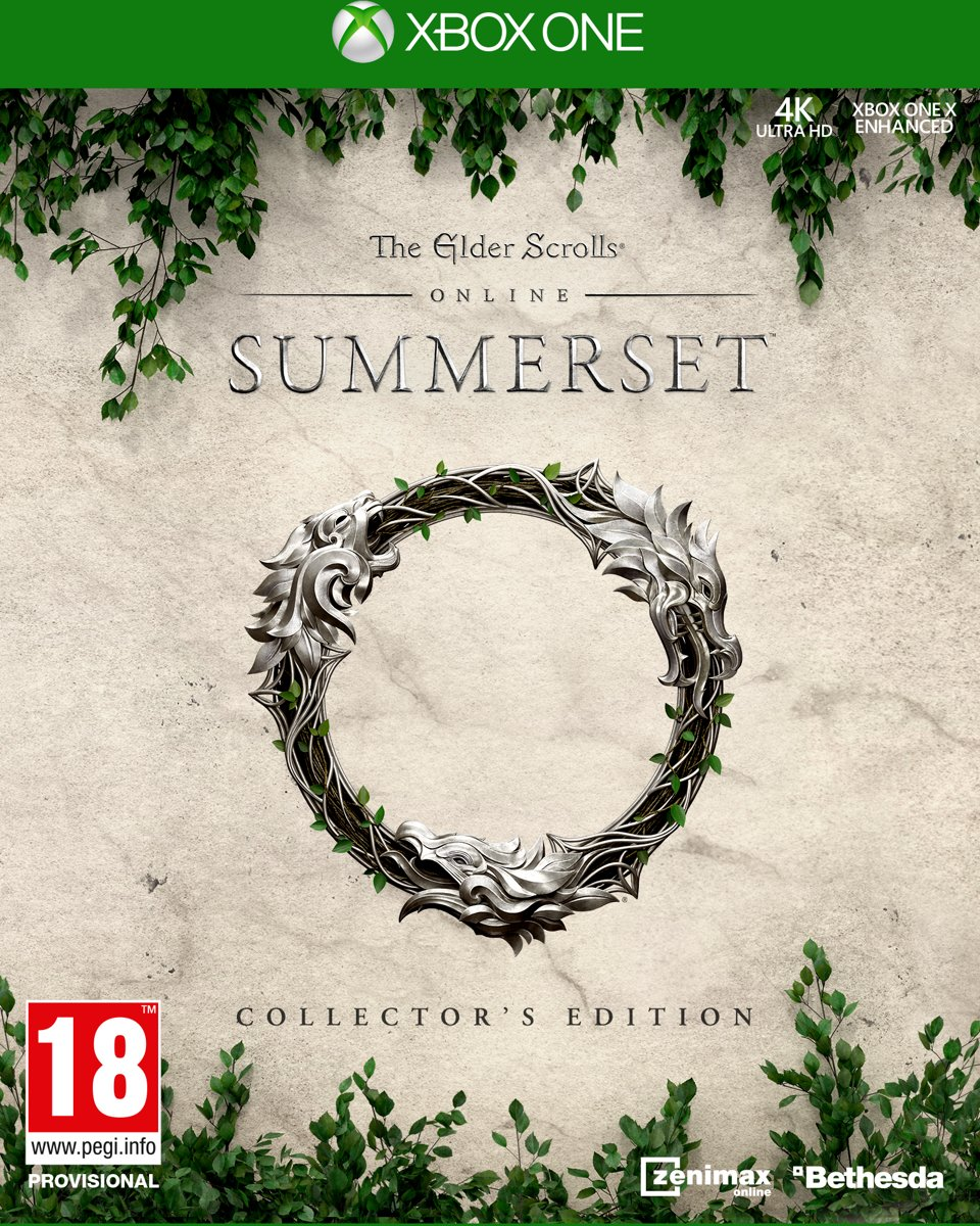 The Elder Scrolls Online: Summerset Collectors Edition - Xone