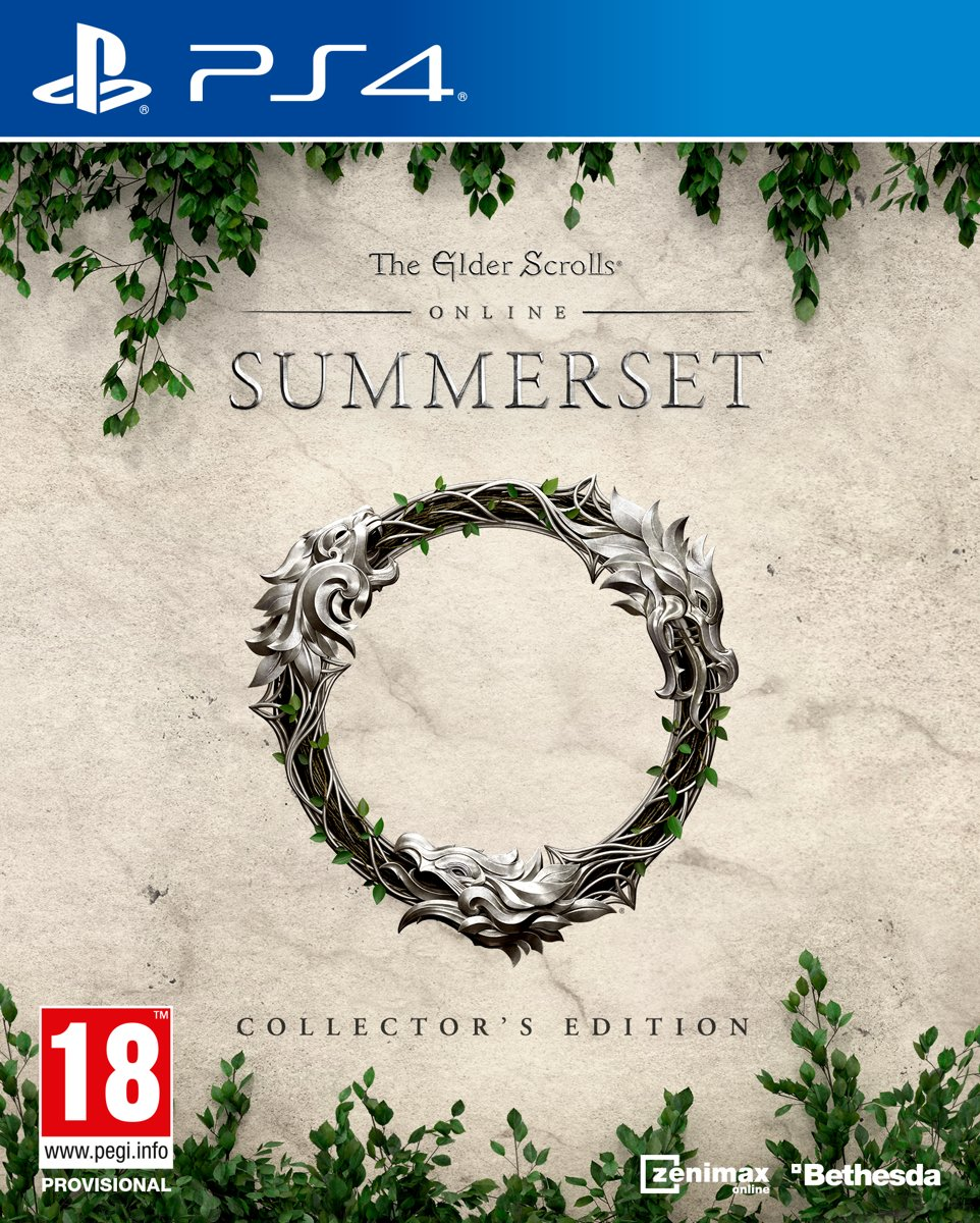 The Elder Scrolls Online: Summerset Collectors Edition PS4