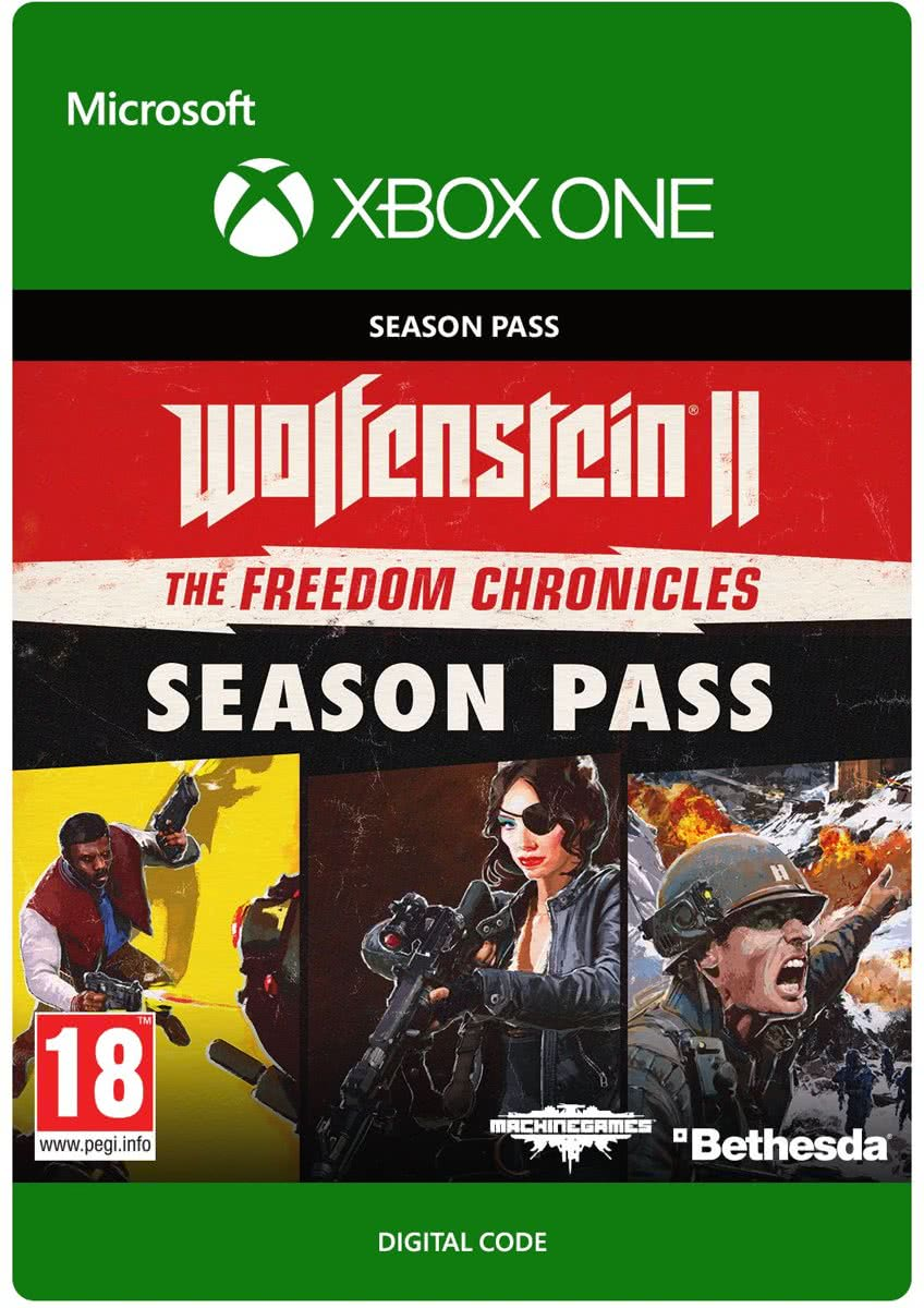 Wolfenstein II - Season Pass - Xbox One