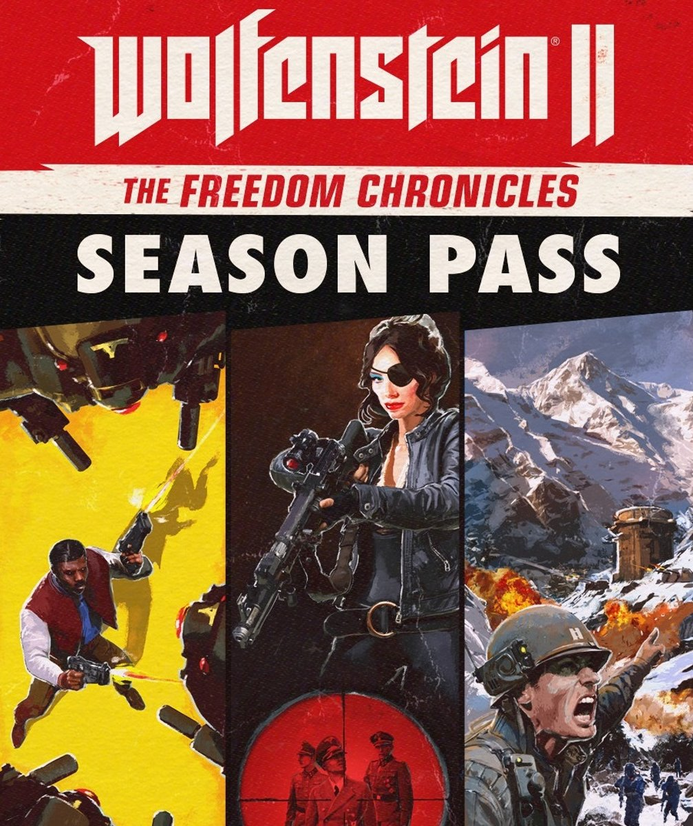 Wolfenstein II: The Freedom Chronicles - Season Pass - Windows Download