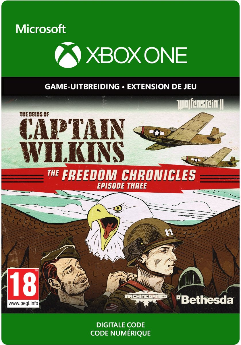 Wolfenstein II: The New Colossus - The Amazing Deeds of Captain Wilkins - Add-on - Xbox One