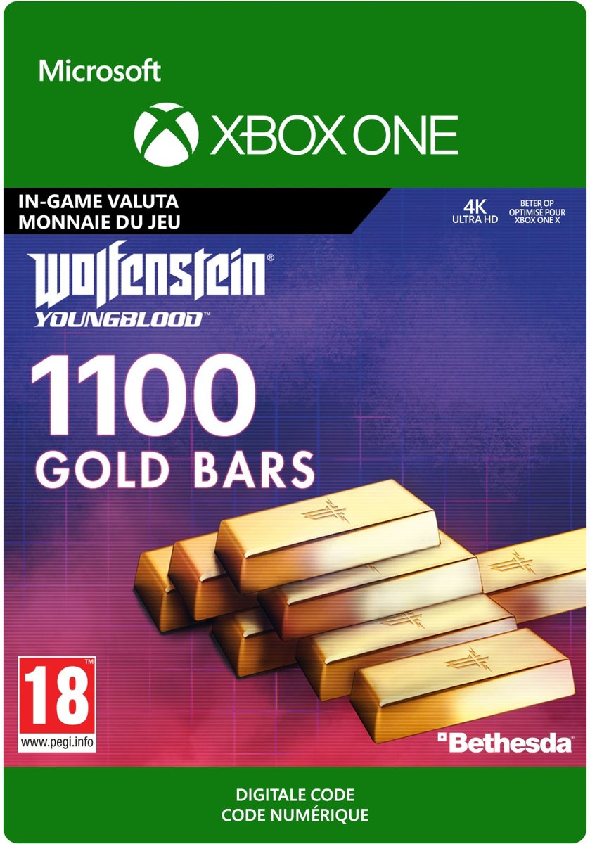 Wolfenstein: Youngblood: 1100 Gold Bars - Xbox One Download