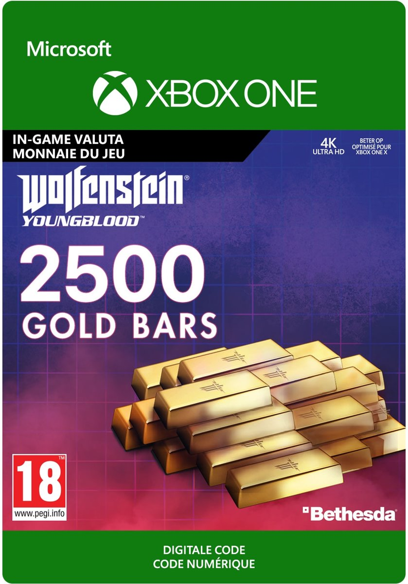 Wolfenstein: Youngblood: 2500 Gold Bars - Xbox One Download
