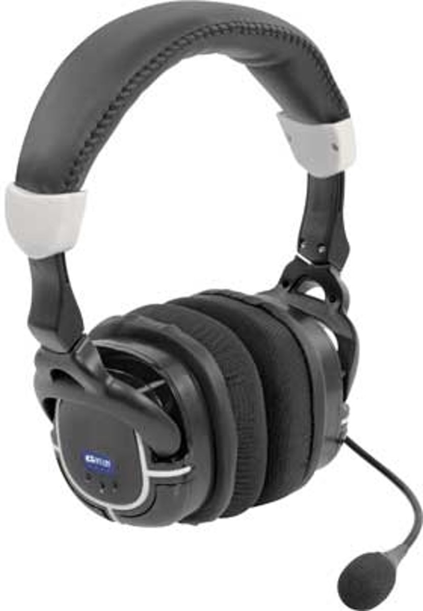 Datel Game Talk Pro-2 Draadloze Gaming Headset Zwart Xbox 360