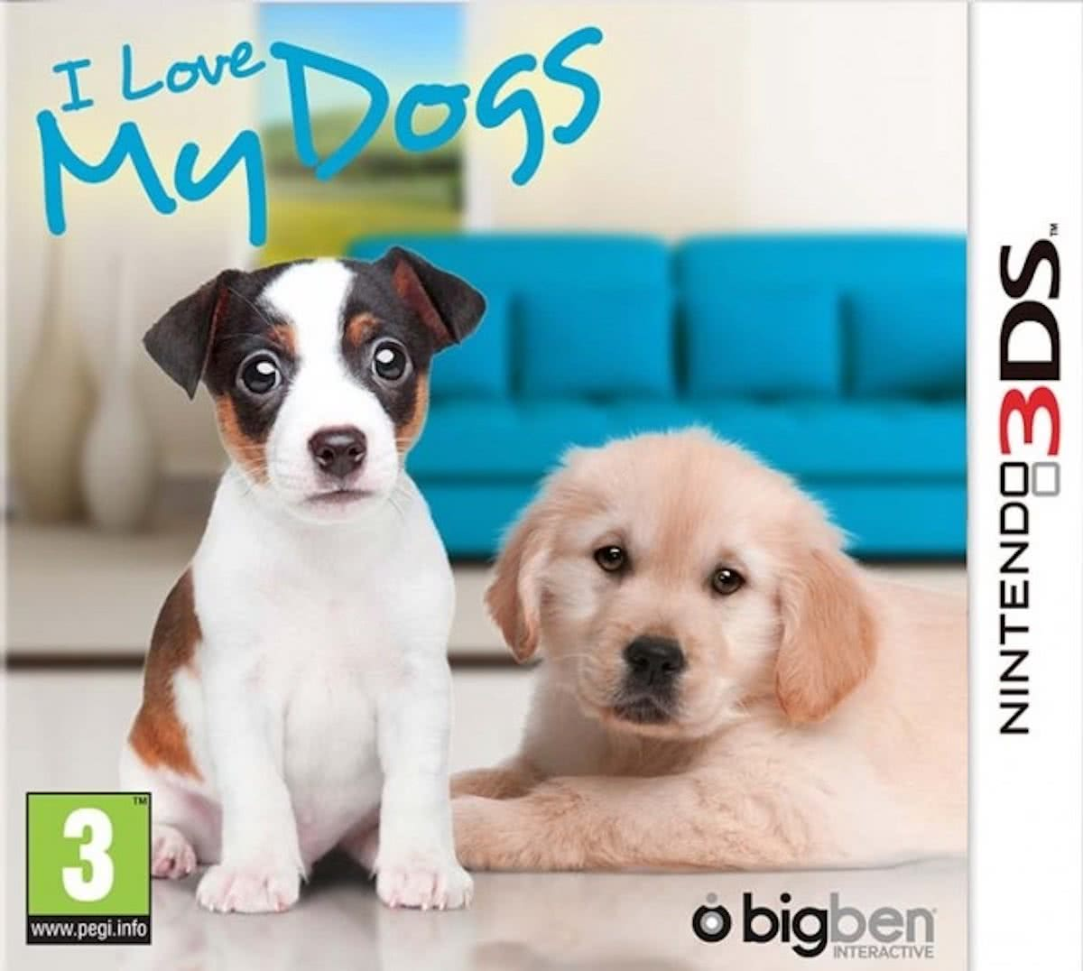 I Love My Dogs - 2DS + 3DS