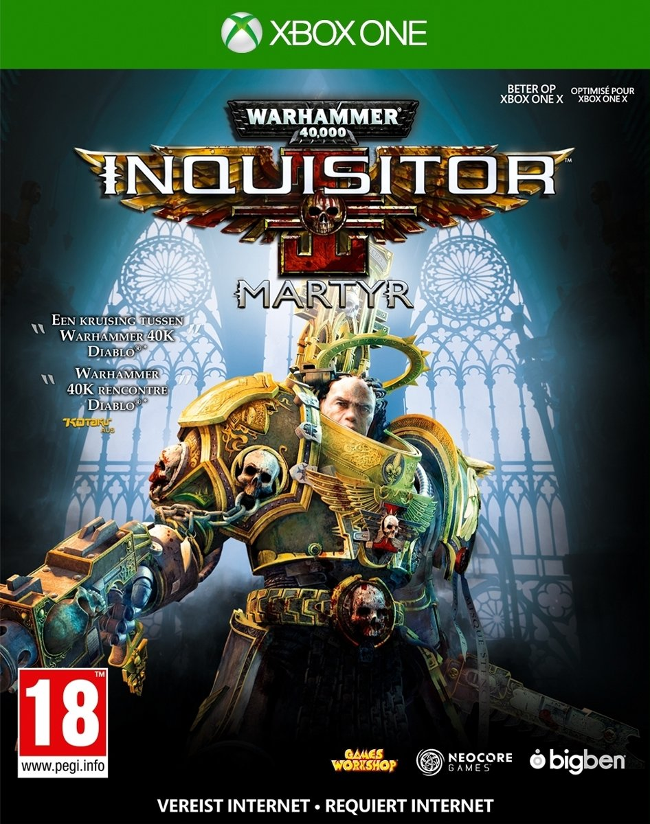 Warhammer 40K Inquisitor Martyr - XBox One