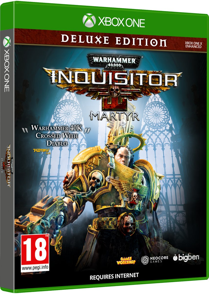 Warhammer 40K Inquisitor Martyr Deluxe Edition - XBOX ONE