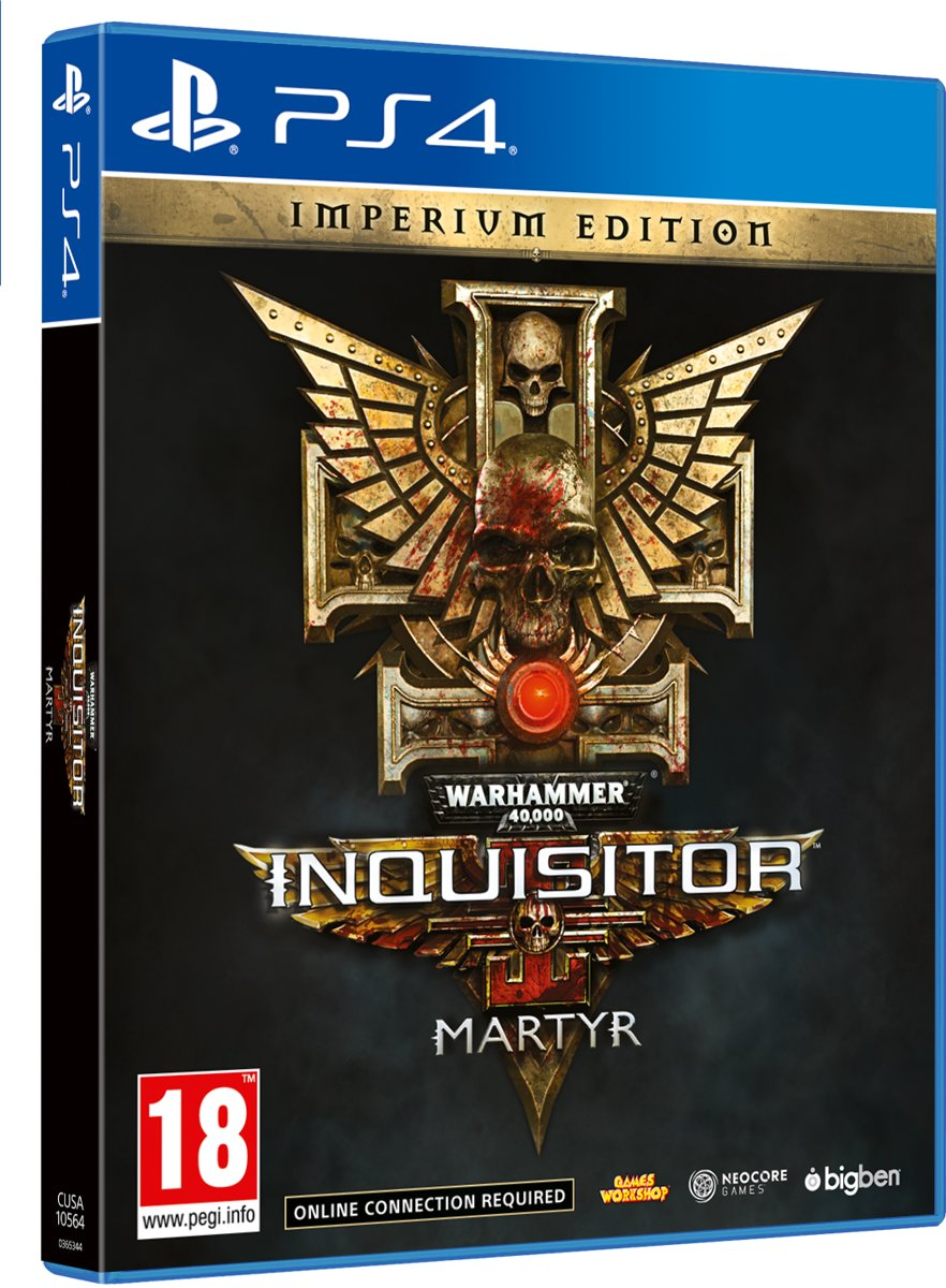 Warhammer 40K Inquisitor Martyr Imperium Edition - PS4