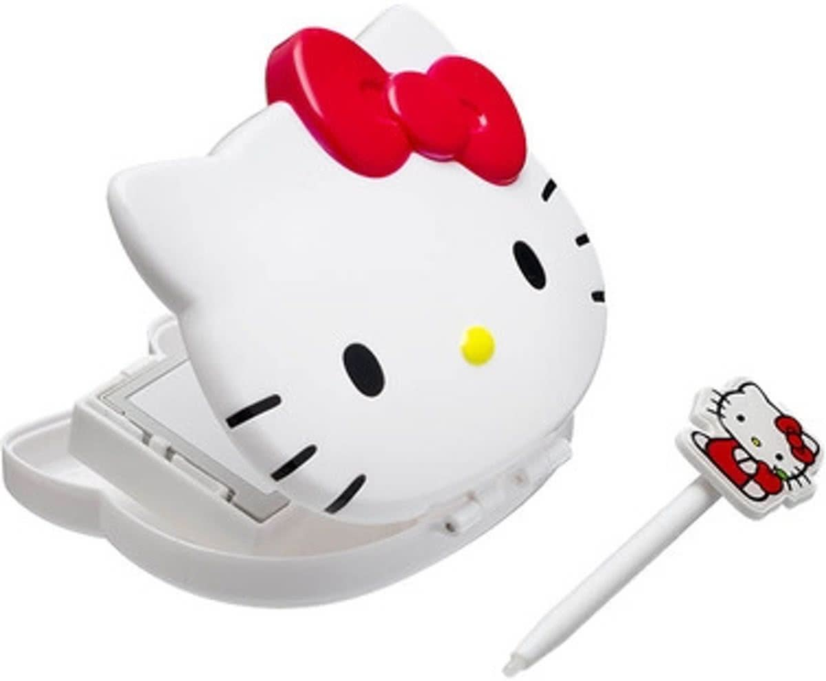 Bigben Hello Kitty Opberghoes & Stylus Wit 3DS XL + 3DS