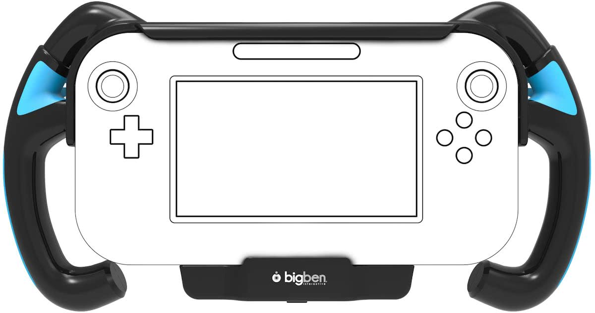 Bigben Racing Grip Wii U