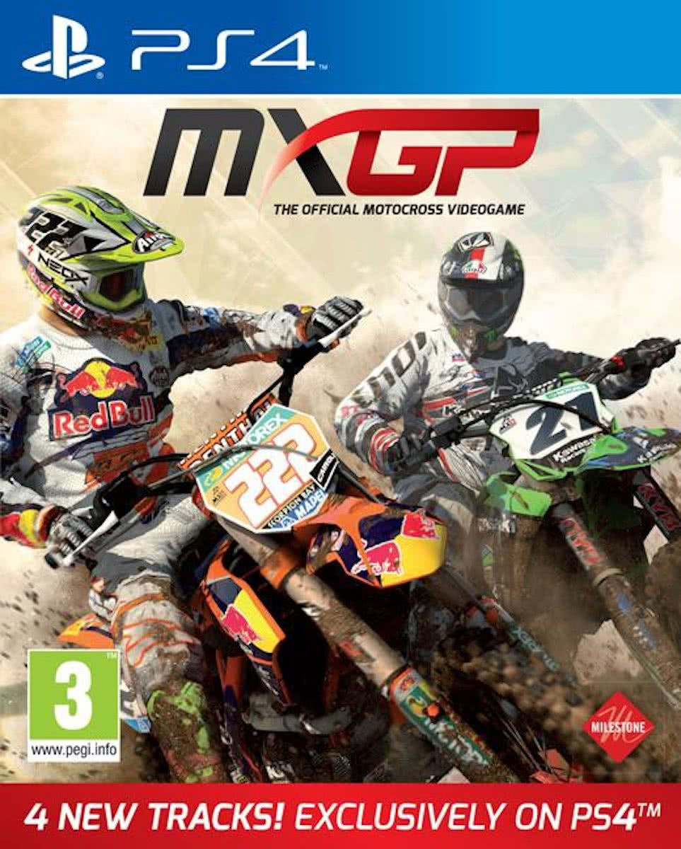 MXGP: The Official Motocross Videogame - PS4