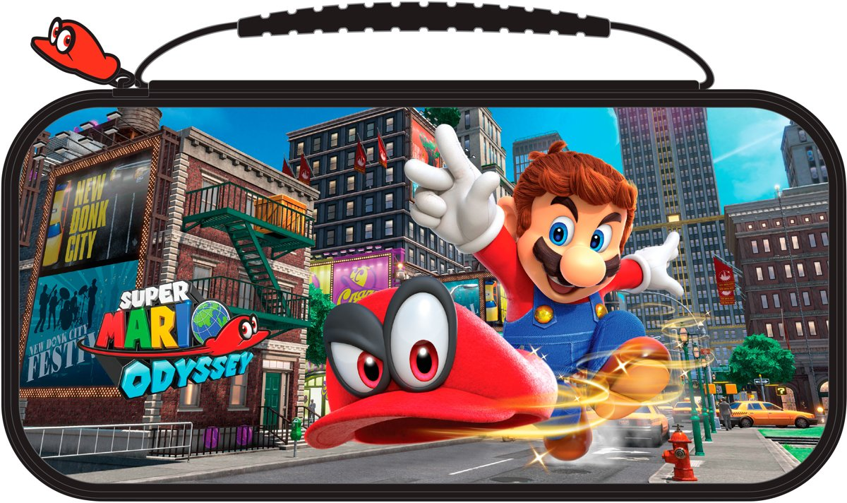 Official Licensed Super Mario Odyssey Beschermhoes - Nintendo Switch