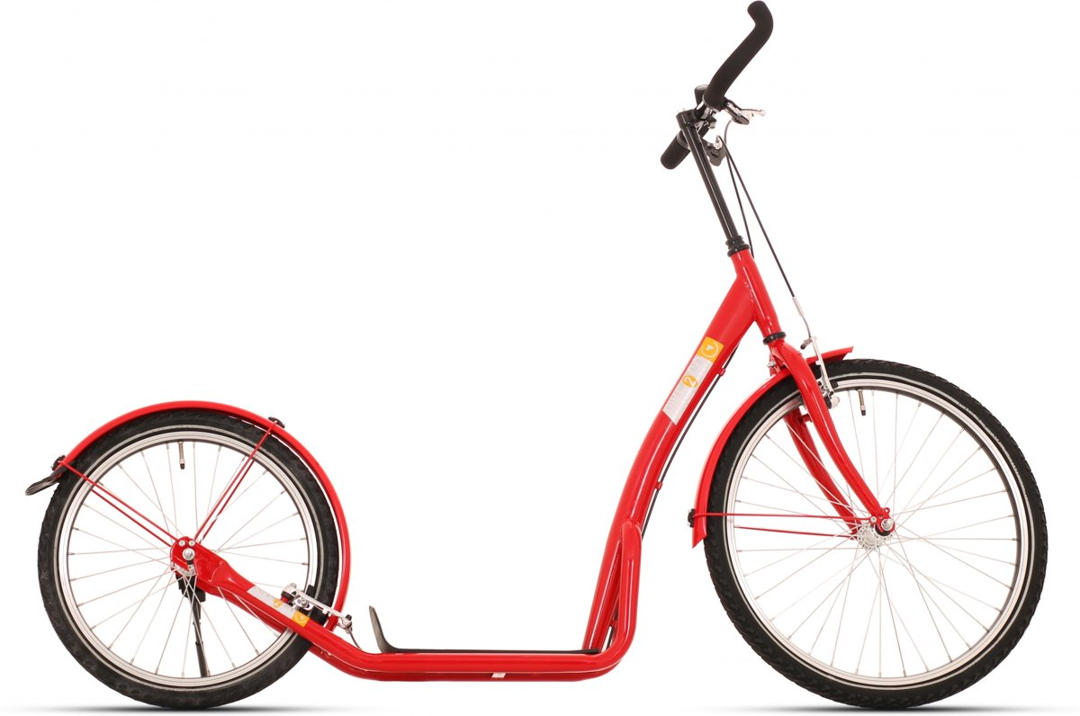 Bike Fun Step Bike2go - Step - Unisex - Rood - 20 Inch
