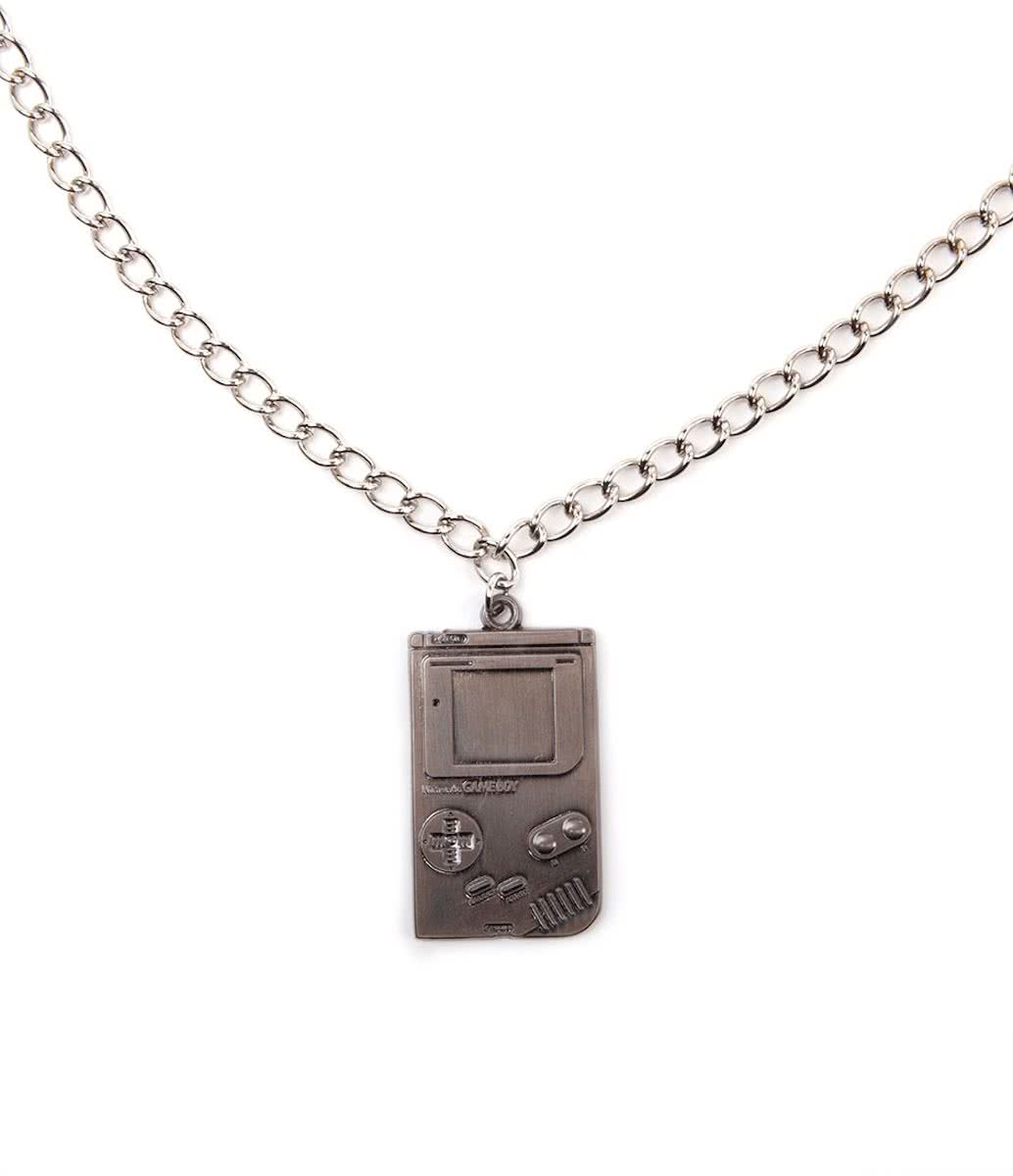 Nintendo - Game Boy - Metalen Ketting