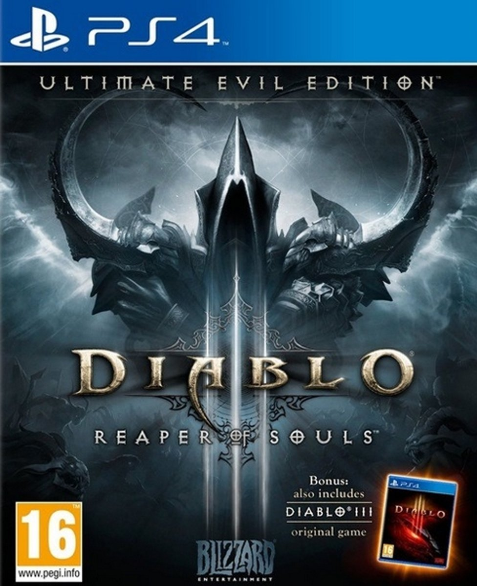 PS4 DIABLO III : REAPER OF SOULS - ULTIMATE EVIL EDITION (EU)