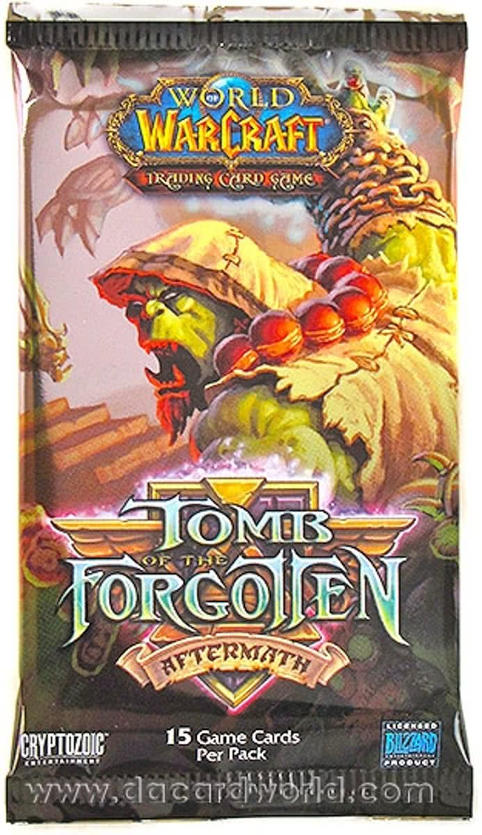 World Of Warcraft 3 Booster Pakjes Tomb of the Forgotten