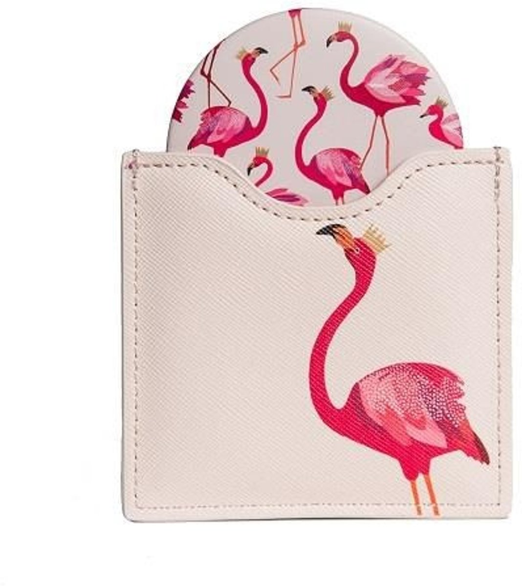 Blueprint Collections Flamingo Cosmetica Spiegel