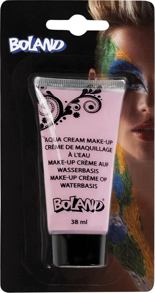 24 stuks: Tube make-up creme op waterbasis - roze - 38ml