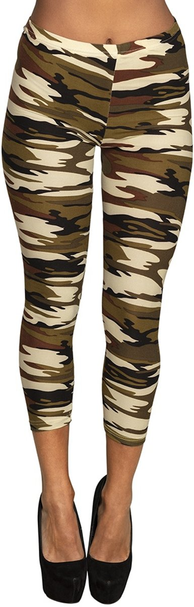 3/4 Legging Army Dames Maat M