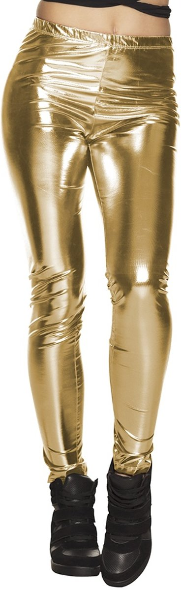 Legging Glance Dames Goud One Size