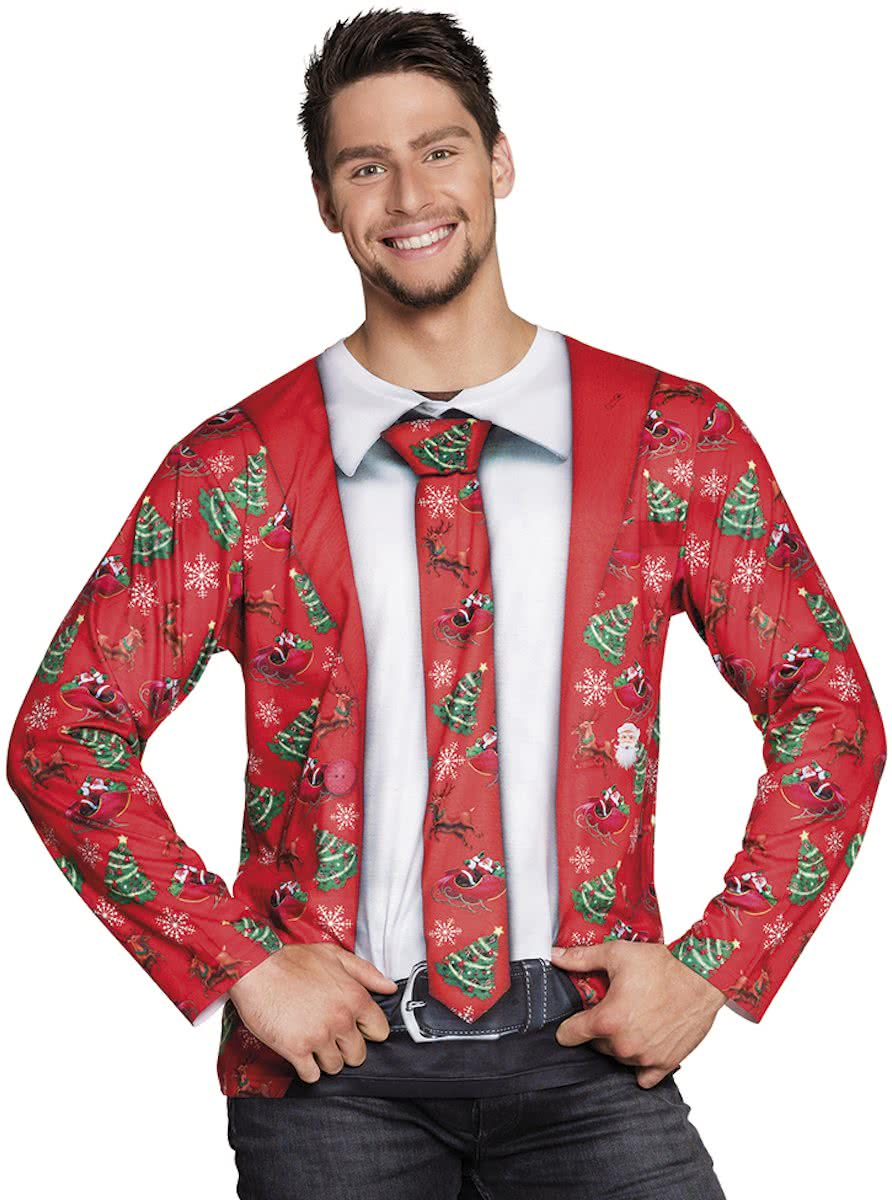 Fotorealistisch Fancy Christmas shirt (M)