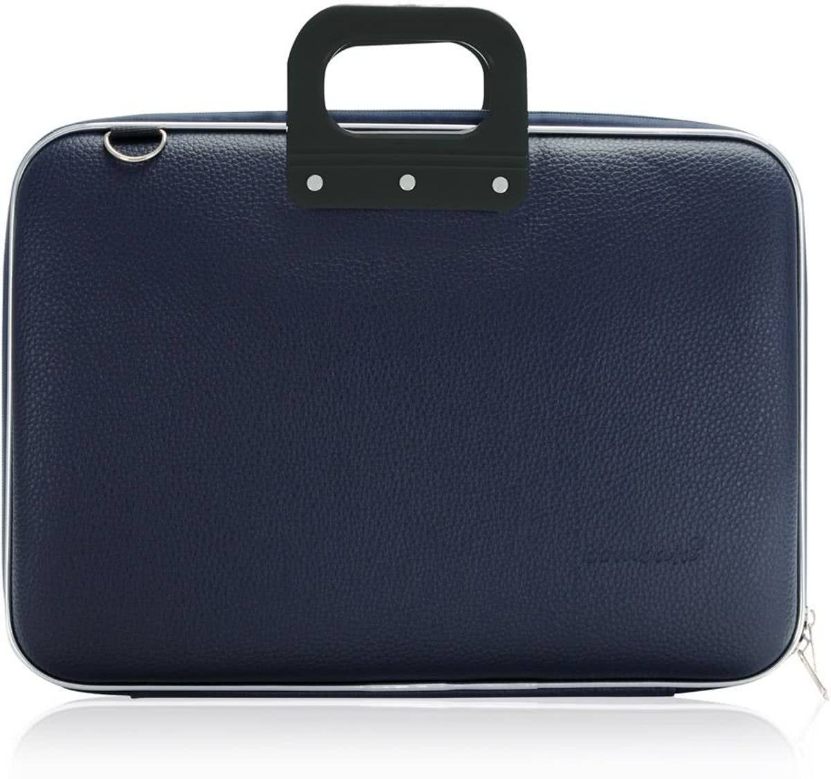 Bombata Bombata Classic Business Laptoptas Dark Blue