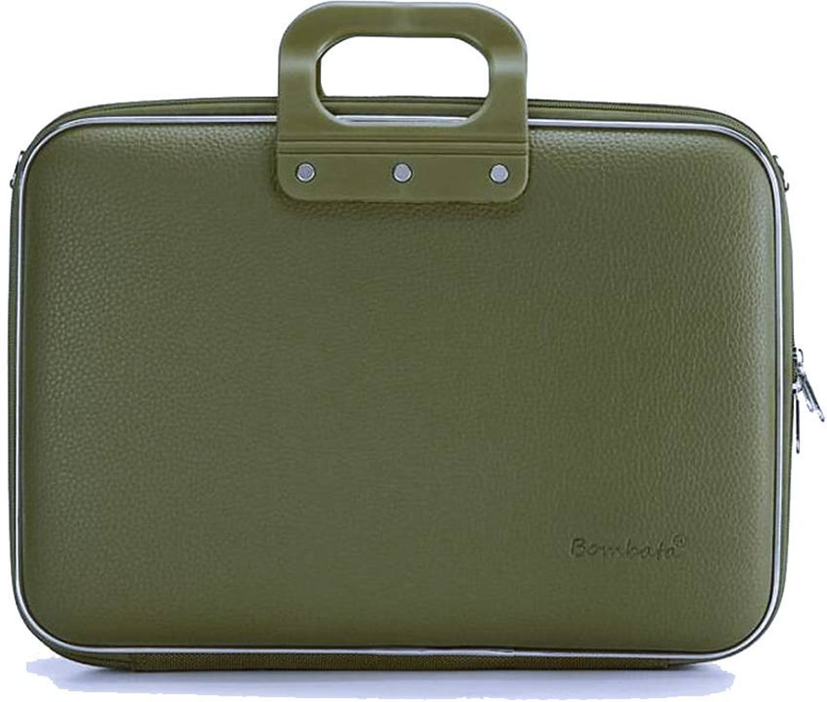 Bombata Business 15 inch Laptoptas Kaki Green