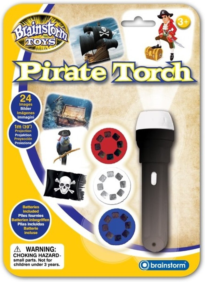 Brainstorm PIRATE TORCH AND PROJECTOR