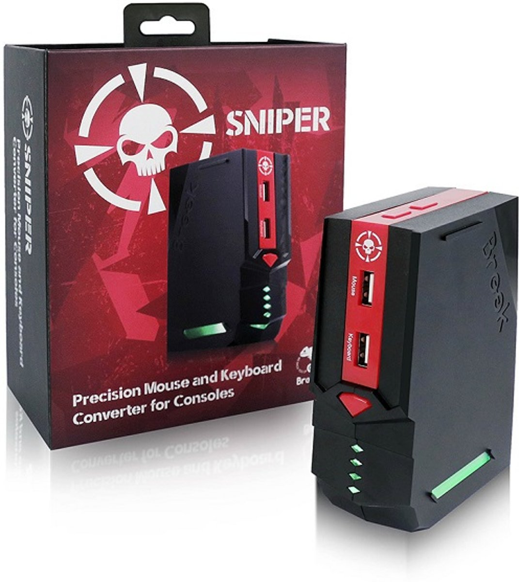 Sniper Precision Mouse & Keyboard Console Adapter Converter