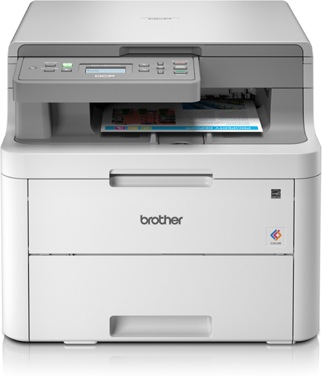 DCP-L3510CDW - Draadloze All-In-One Kleurenledprinter