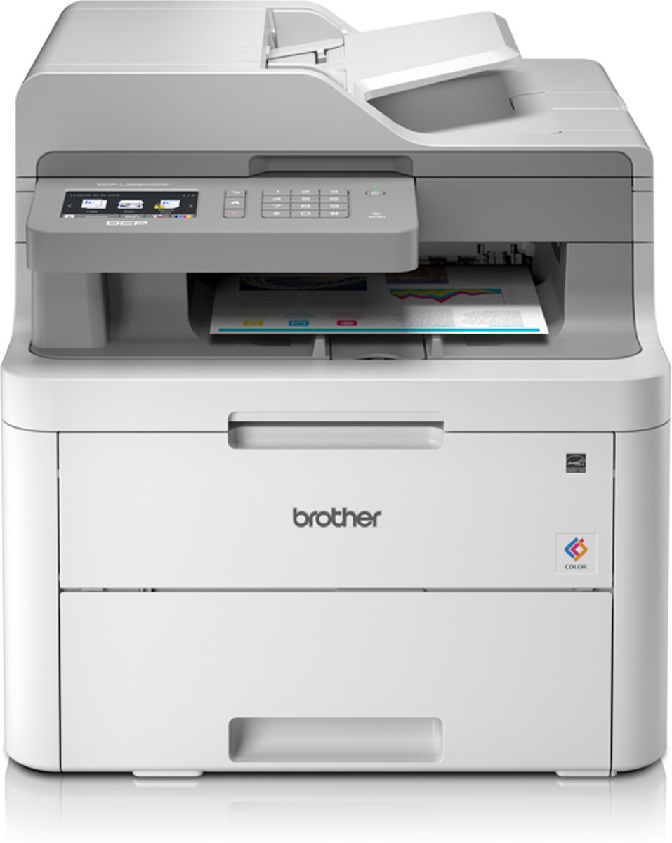 DCP-L3550CDW - Draadloze All-In-One Kleurenledprinter