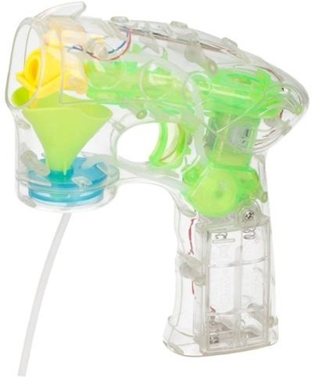 pistool Bubbleshooter Met Sop 56ml 2-delig