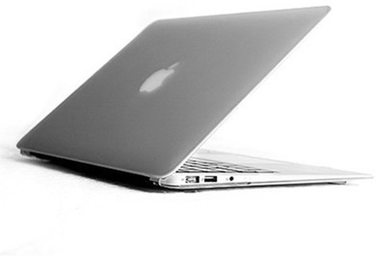 MacBook Air 11 inch cover - Transparant (mat)