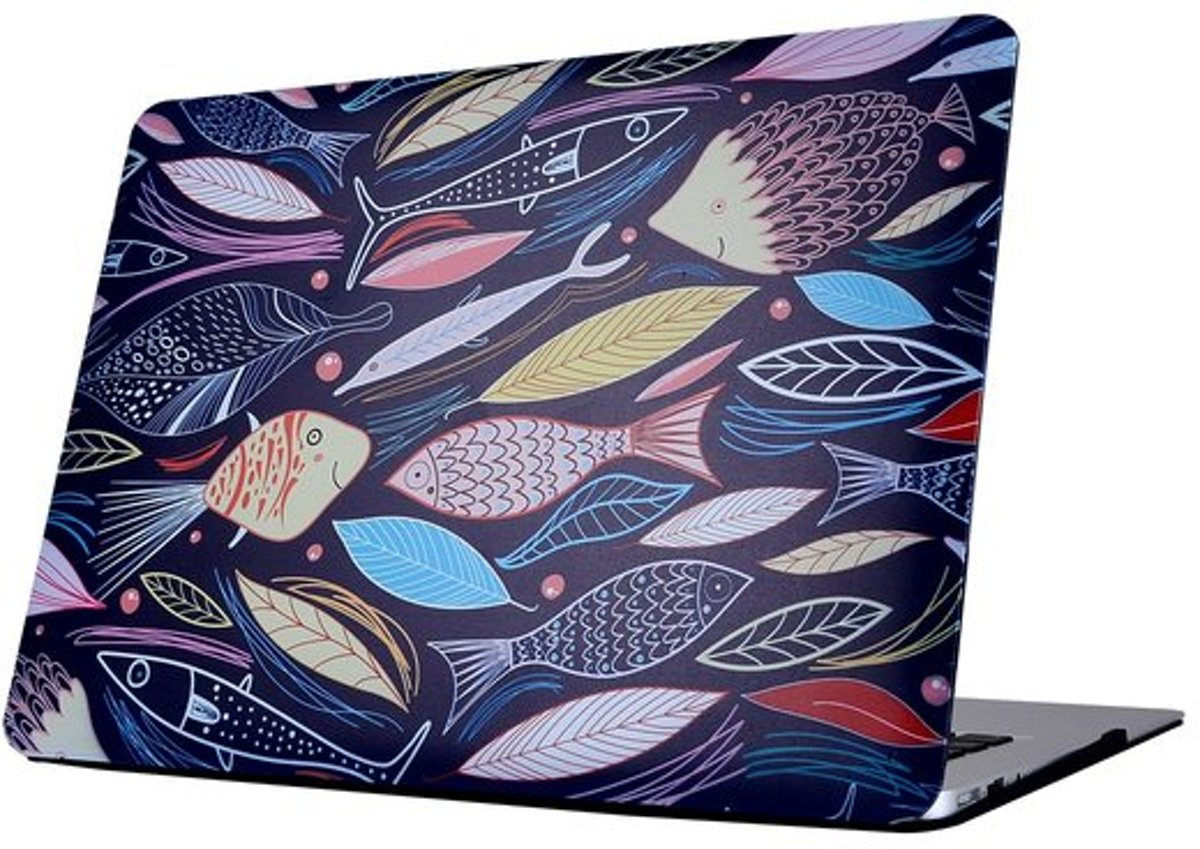 MacBook Pro retina touchbar 13 inch case (A1706 & A1708) - Fishes