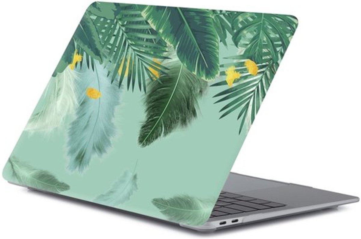 MacBook Pro touchbar 13 inch case - Green nature