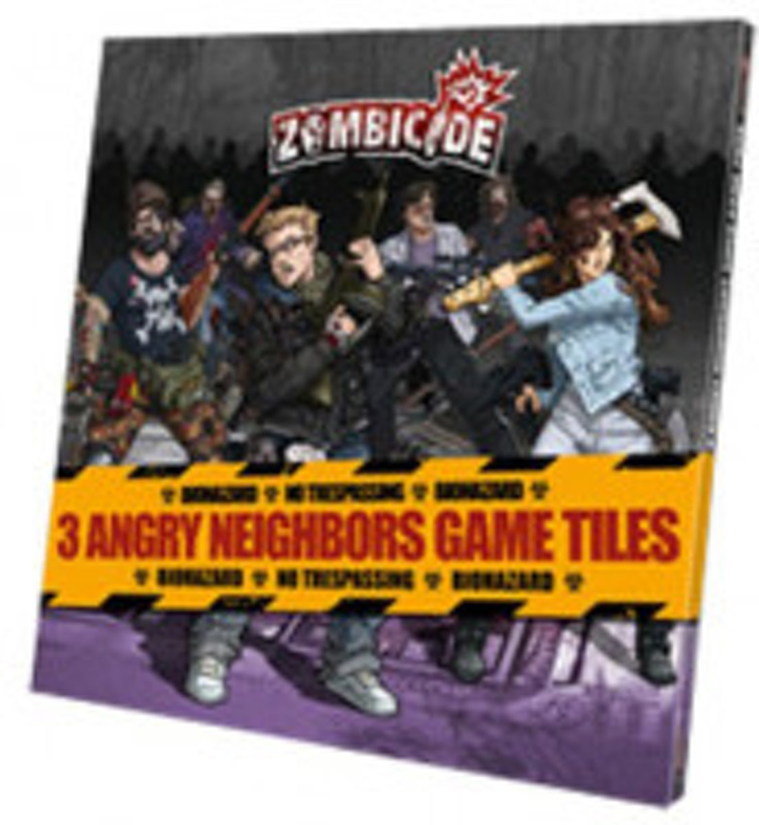 Zombicide Angry Neighbours Tiles Pack