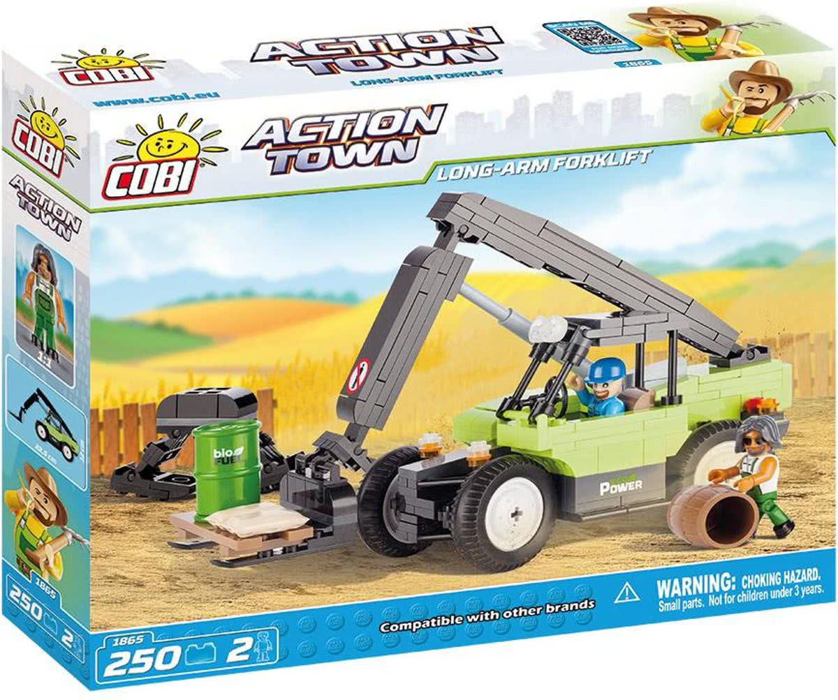 COBI Long Arm Forklift