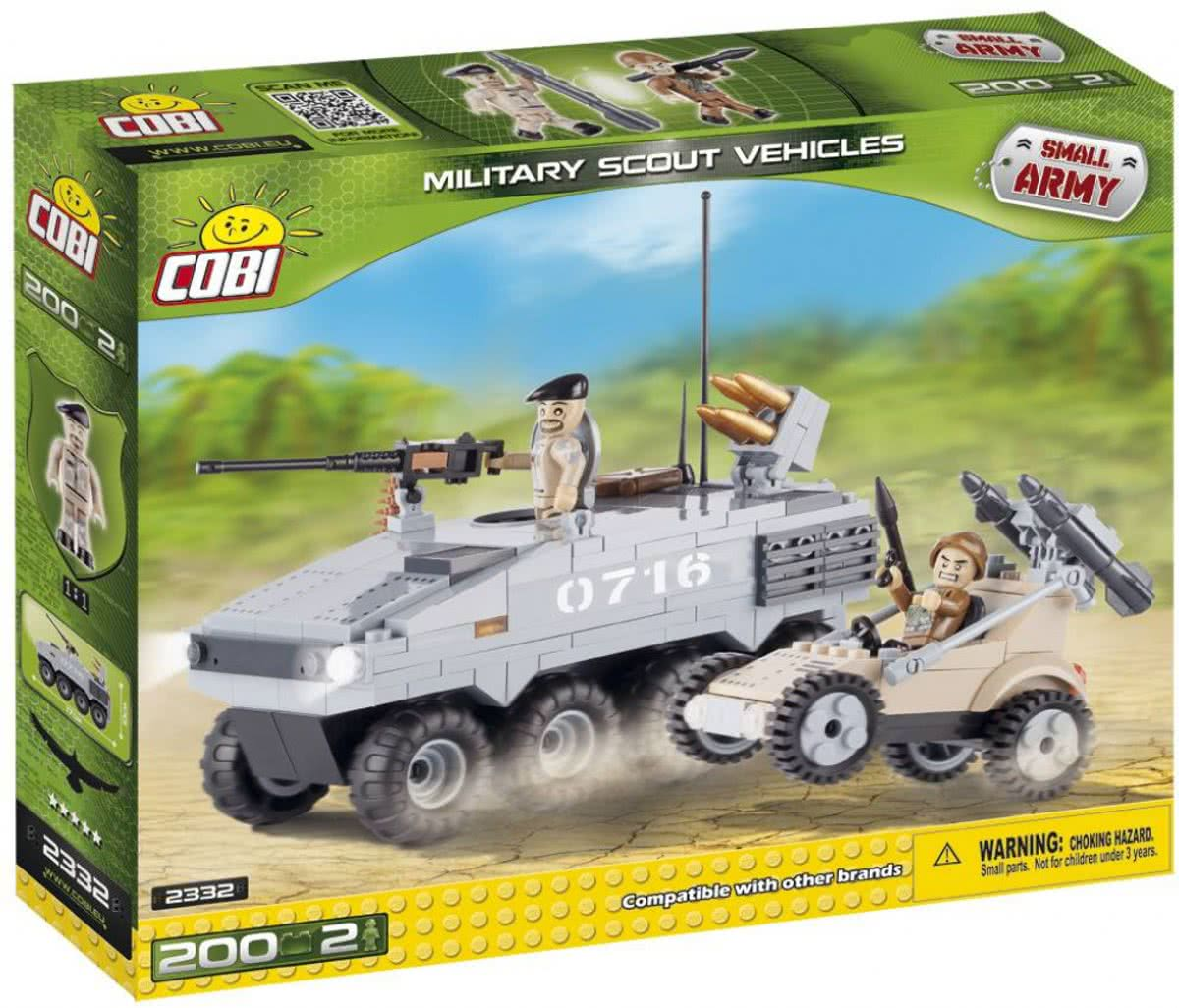 Cobi - Small Army - Military Scout Vehicles (2332)