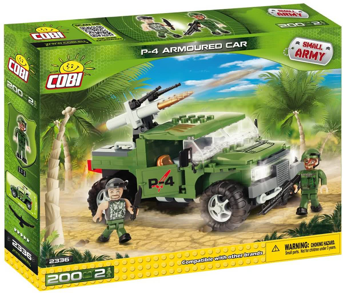 Cobi - Small Army - P-4 Armoured Car (2336)