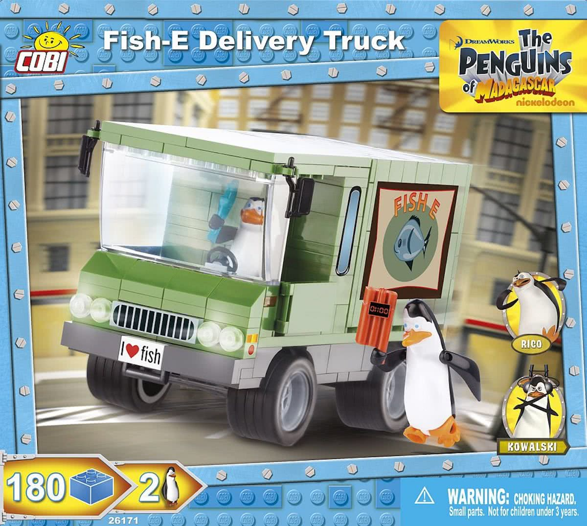 Cobi Penguins 26171 Fish Delivery Truck