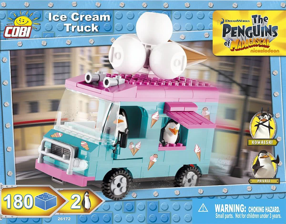 Cobi Penguins 26172 Ice Cream Truck