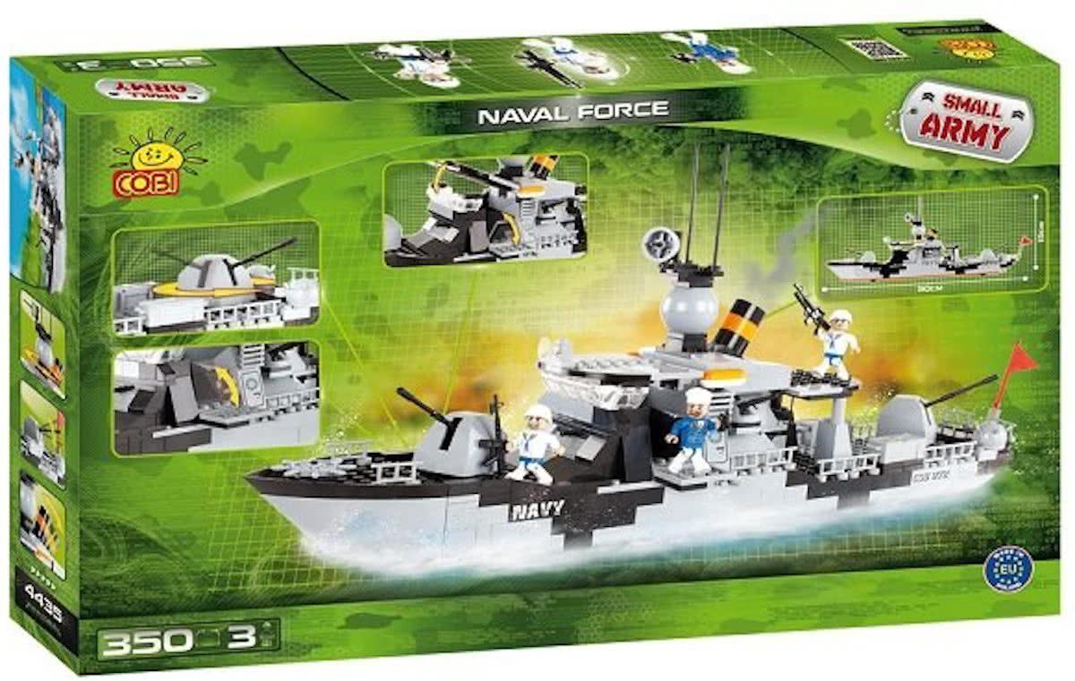 Cobi Small Army Naval Force - 4435